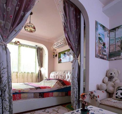【小户型】客厅卧室隔断效果图 让你的卧室一房两用