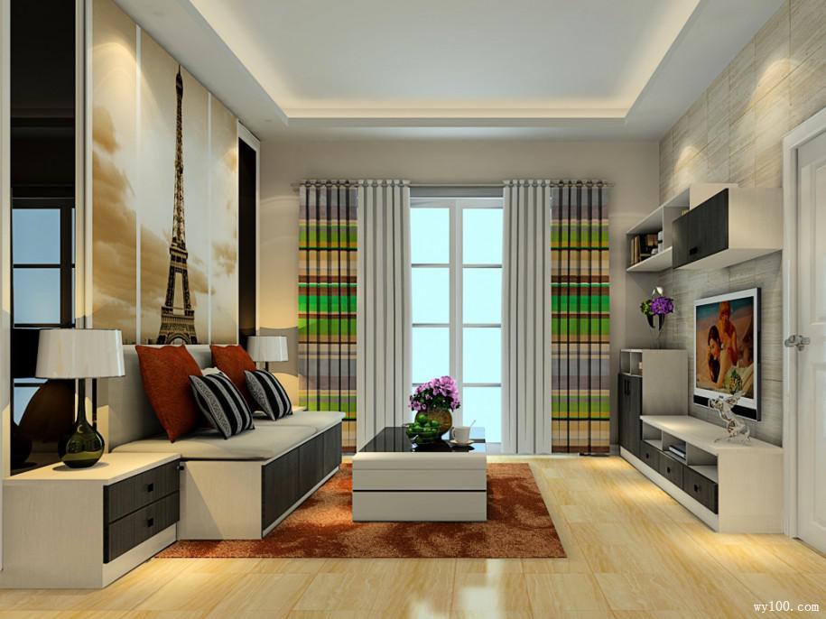 普通家庭客厅装修