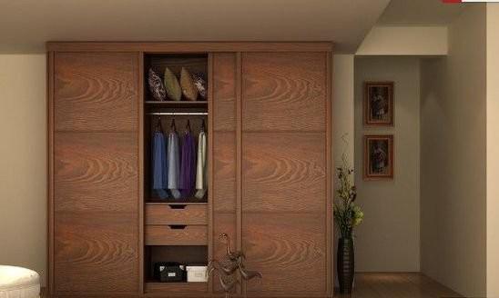 定制衣柜效果图