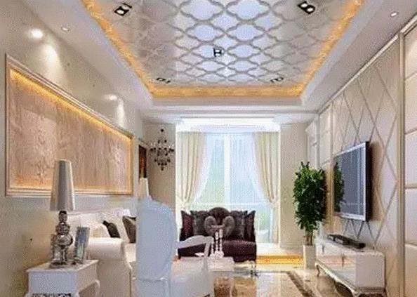 户型客厅吊顶设计方法