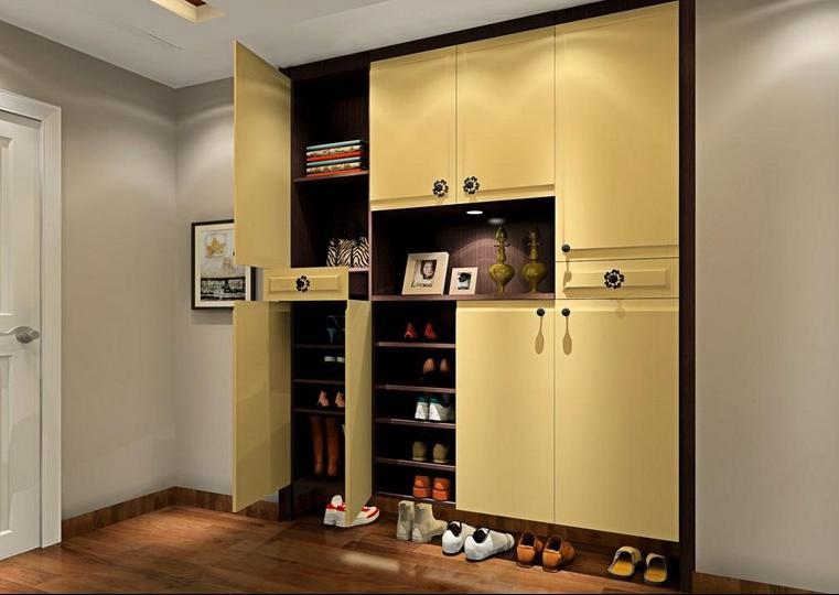 进门鞋柜玄关与风水-维意定制家具商城图片