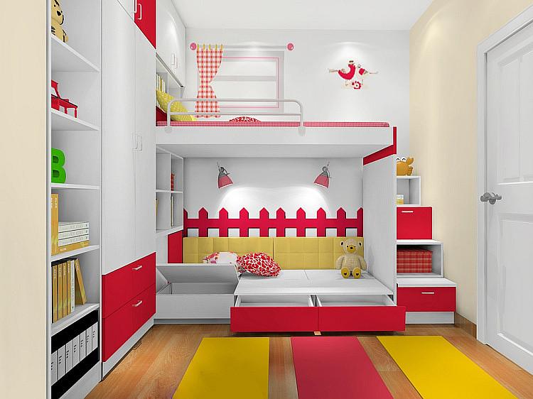 儿童房设计哪种适合你?-维意定制家具商城