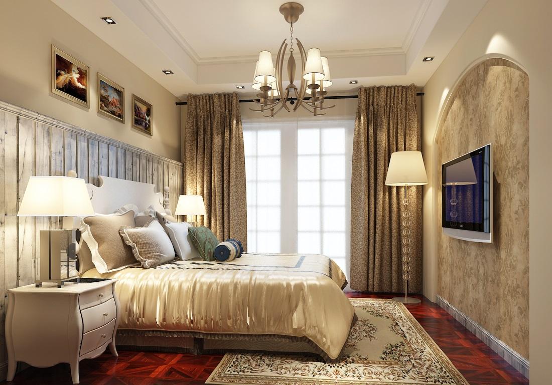 卧室吊顶装修效果图