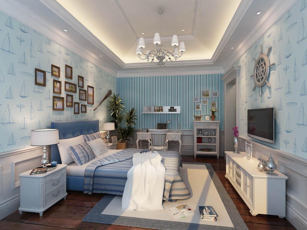室内装修卧室设计效果图赏析