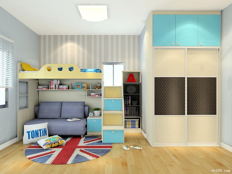 儿童衣柜-维意家具网站商城