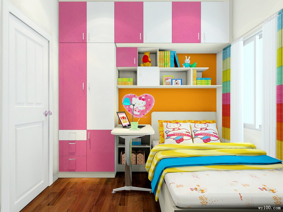 环保儿童衣柜-维意家具网上商城