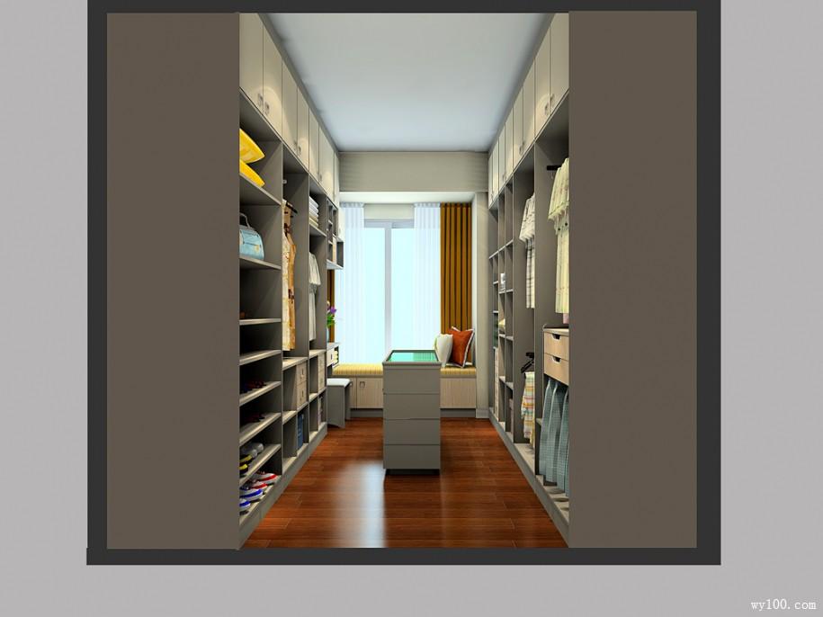 2平米走入小型衣帽间如何设计?