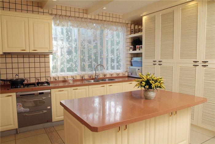 开放式厨房吧台设计--维意定制网上商城