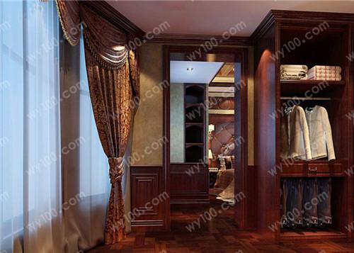 走入式衣柜设计的注意事项--维意定制家具网上商城