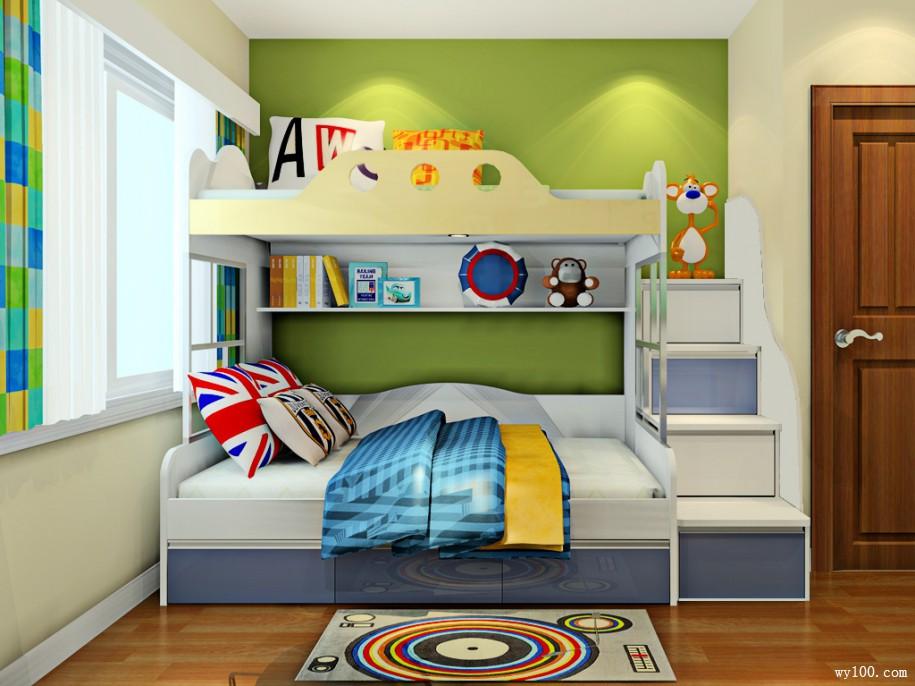 儿童高低床尺寸的选择