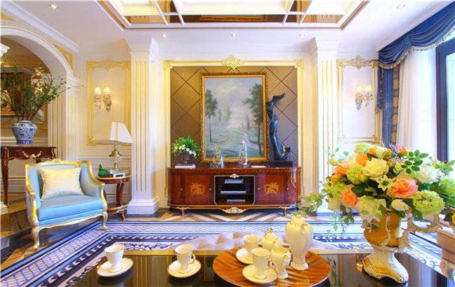 美式客厅家具特点--维意定制家具网上商城
