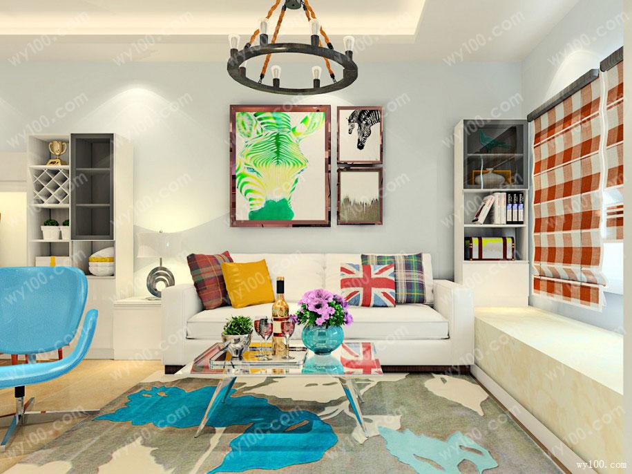 小客厅该怎么选沙发,这样搭配更合理
