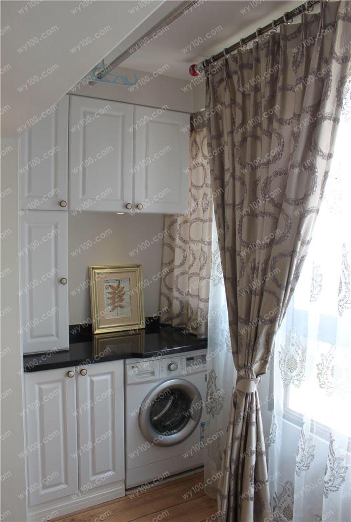阳台洗衣柜用什么材料好 - 维意定制家具网上商城