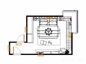奢华欧式卧房效果图 17�O最炫土豪风_维意定制家具商城