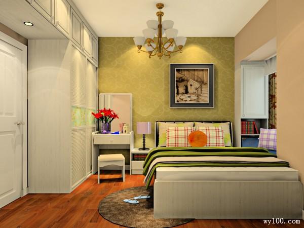 简约小卧室效果图 8�O留客人家里过夜妥妥的_维意定制家具商城