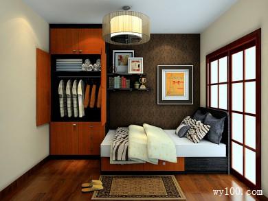 单人卧室装修设计效果图 7�O坐拥五星级的享受 title=