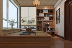 客厅榻榻米装修效果图