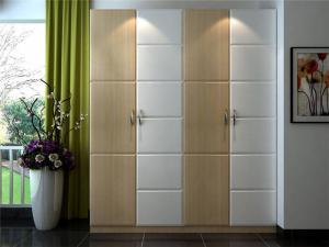 现代开门衣柜