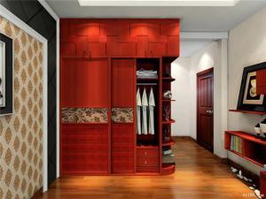 实木新中式衣柜