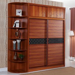 中式卧室整体衣柜