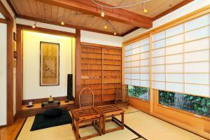 传统中式客厅榻榻米