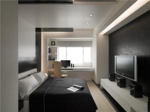 现代卧室电视柜