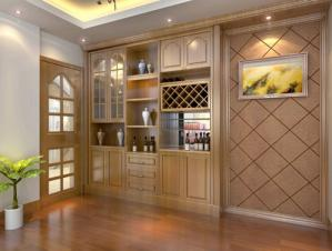 现代简约酒柜装修设计