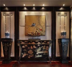 中式风格背景墙