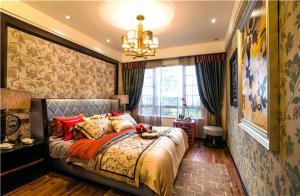 新中式风格卧室复古设计