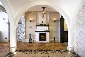 地中海风格家装壁炉设计
