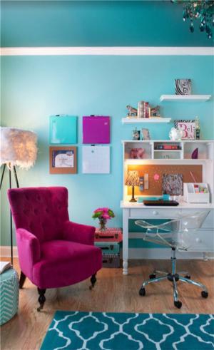 儿童房家具书桌设计