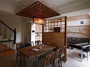 公寓实木日式装修