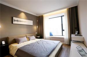 卧室床款式实拍图