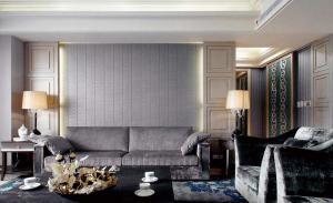 现代简约新古典风格客厅设