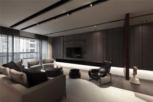 现代好看的客厅背景墙