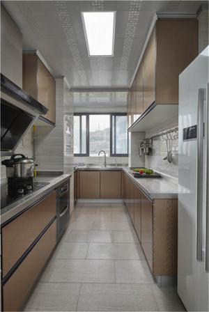 现代好看的厨房橱柜