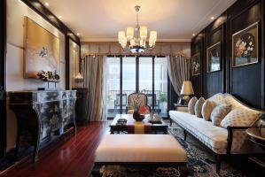 中式好看的客厅背景墙