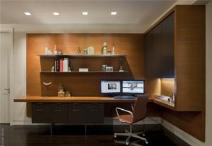 风格现代简约书房装修效果