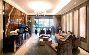新中式风格客厅背景墙
