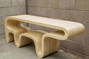 仿生熊型创意书桌