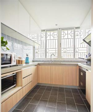 U型厨房整体橱柜