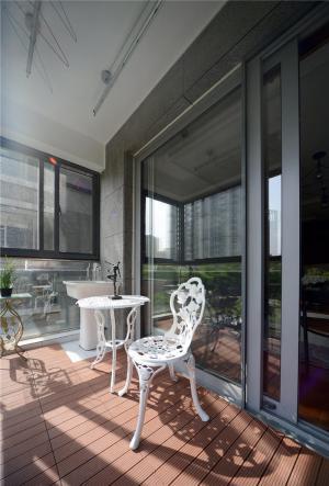 客厅阳台装修效果图防腐地