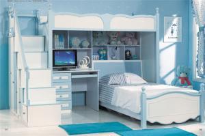 地中海组合床儿童家具上下
