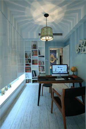 阳光书房装修效果图家具图