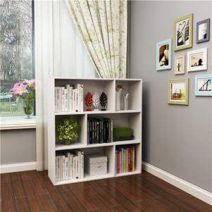 简易书柜五格储物柜