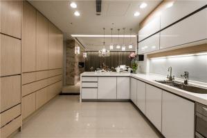大厨房小橱柜实景图