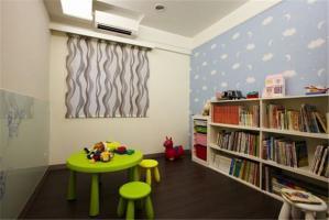 多功能活动儿童书房装修效