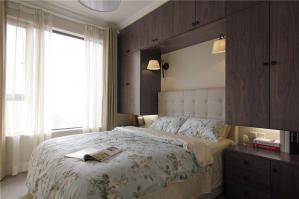 田园风格家具主卧室的床