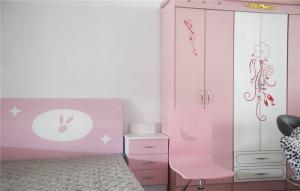 儿童房家具衣柜定制