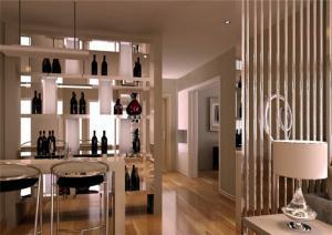 家装设计酒柜价格